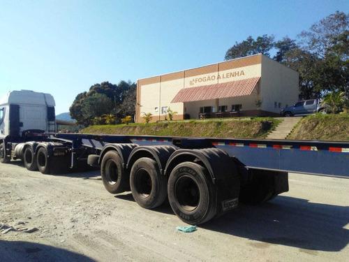 Carreta Porta Containers 40 Pés 12 Engates Facchini - Ano 05