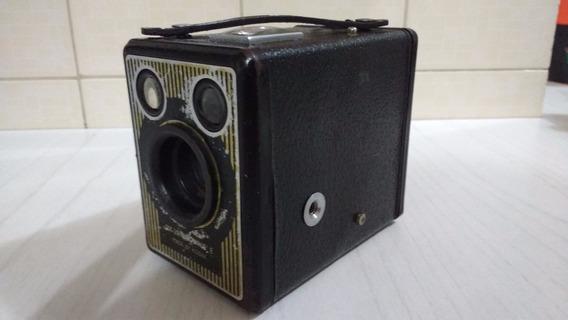 Antiga Câmera Fotografica Kodak Brownie Six20 - Decoração