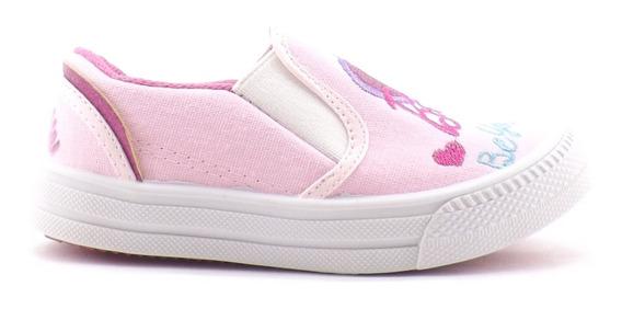 Zapatilla Barbie Nena Niñas Pancha Tela Comodas Nuevas 27-33