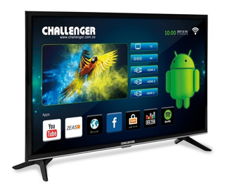 Tv Led Challenger 32 Smart Tv Hd Usb Hdmi Wifi Tdt Bluetooth