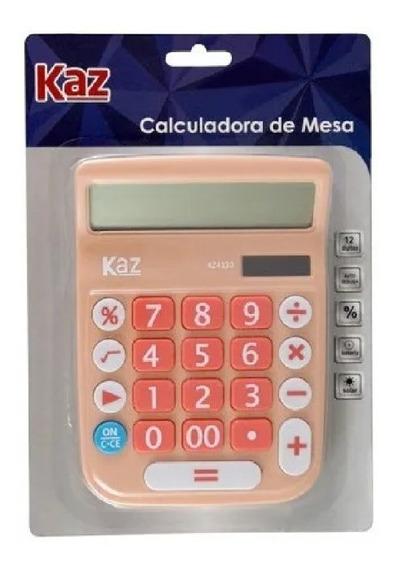 Calculadora De Mesa 12 Digitos Kz4130