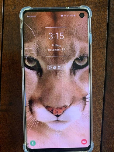 Celular Samsung S10 2 Semanas De Uso 400u$