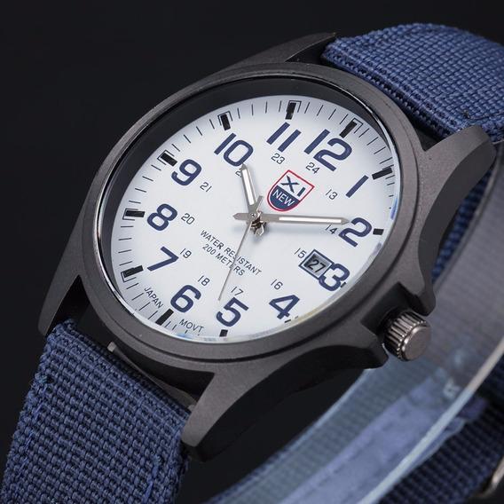 Reloj Militar Importado Original Modelo Casual