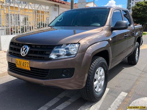 Volkswagen Amarok 4x4 2000cc Tdi Mt Aa Ab Abs Dh