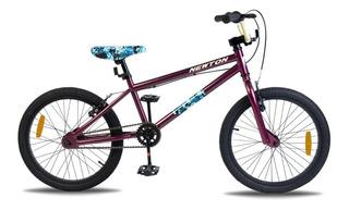 Bicicleta Freestyle Bmx Rodado 20 Newton Duce Niño Saltos