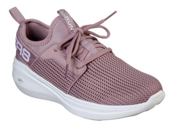 Tenis Skechers Go Run Fast Feminino Original + Nf 15103 Mve