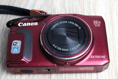 Camera Canon Powershot Sx700hs Fullhd 60fps Barata Zoom 60x
