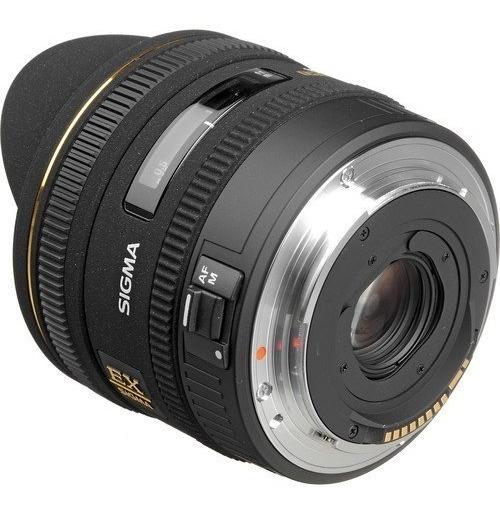 Lente Sigma 10mm F2.8 Dc Para Canon