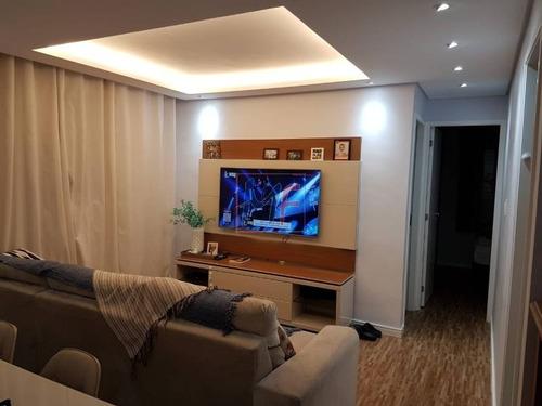 Imagem 1 de 19 de Ref: 12.441 Excelente Apartamento No Bairro Campestre, Com 2 Dorms Sendo 1 Suíte Com Meia Sacada, 1 Vaga, 59 M² Útil. Analisa Permutas. - 12441