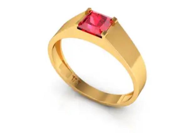 Alianca,anel Masculino,ouro 18k