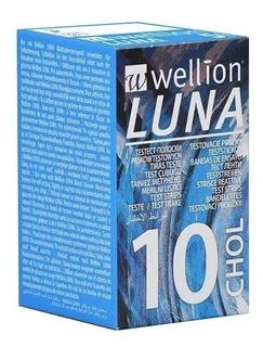 Tiras Teste Colesterol P/ Monitor Luna Duo Wellion 20und