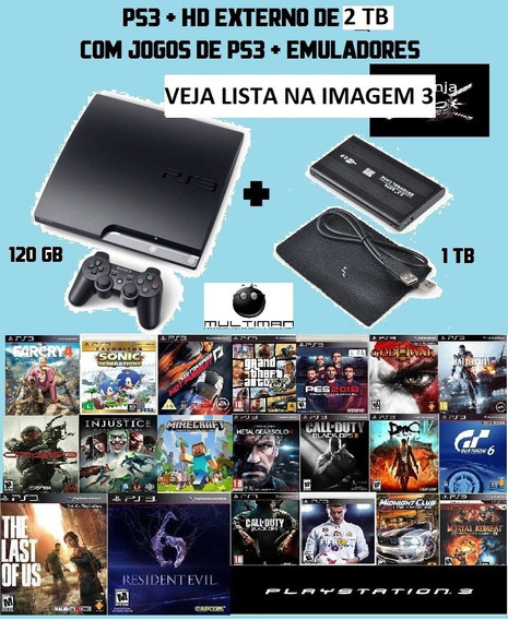 Playstation 3 Slim Destrav + 2 Teras Hd
