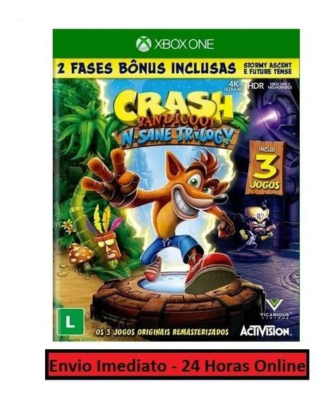 Crash Bandicoot Jogo + Todas Dlc