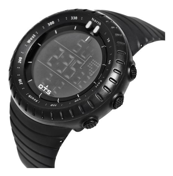 Relógio Ots Esportivo Militar Shock À Prova D