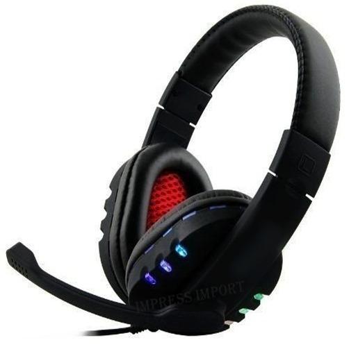 Fone Ouvido Gamer 7.1 Usb Headphone Microfone Ps4 Pc Notbook