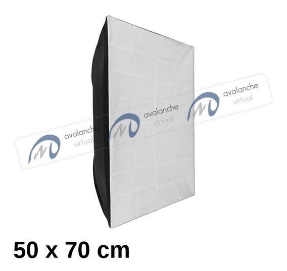 Softbox P/ Flash De Estúdio 50 X 70 Cm Enc. Bowens, Hazy