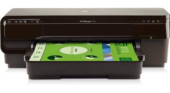 Impressora Hp 7110 A3 + Bulk Ink Big Tanque + 5 Lt De Tinta
