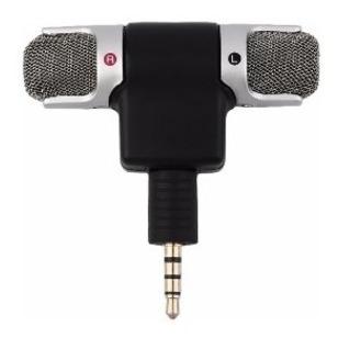 Mini Microfone Stéreo P2 Celular Android iPhone