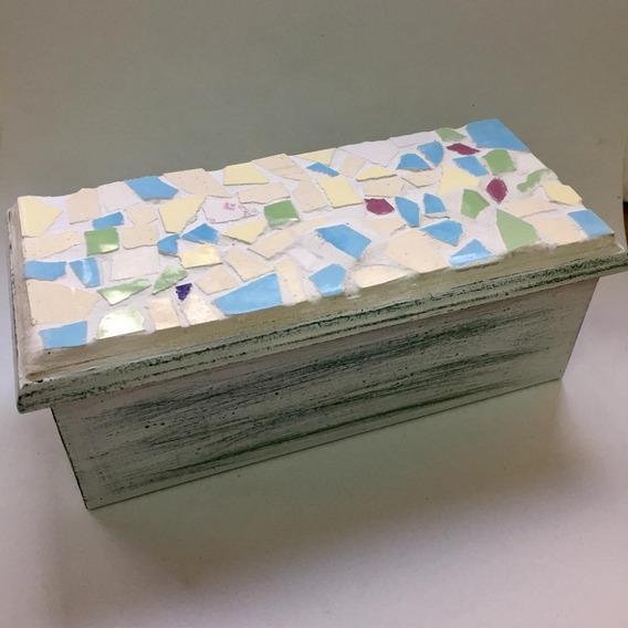 Cajas De Té Artesanales Con Venecitas - 3 Divisiones