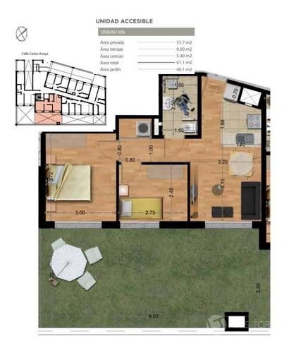 Imagen 1 de 19 de Apartamento - La Blanqueada Con Renta 23.500, Patio Amplio.