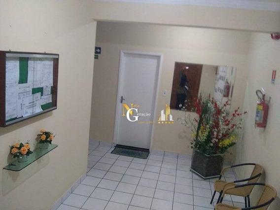 Apartamento De 1 Dormitório, 46 M² Por R$ 148.000 - Boqueirão - Praia Grande/sp - Ap2366
