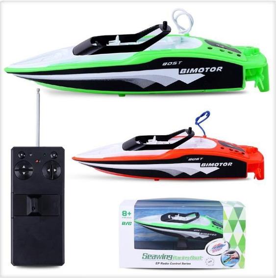 Barco De Controle Kit Com 2 Und Para Brincar Na Piscina Lago