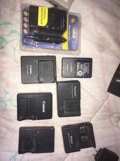 Cargadores Canon E8e E5 Nikon Mh23 El20 Olympus Lumix Etc