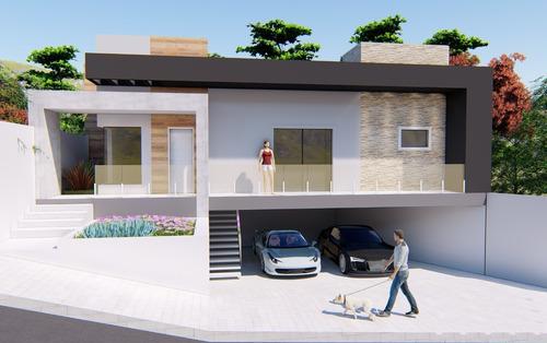 Imagem 1 de 8 de Planta De Casa 3 Quartos - Projeto Completo+aprovação Ea-149