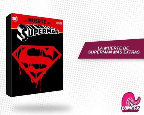 Imagen 1 de 2 de Comic La Muerte De Superman Más Extras