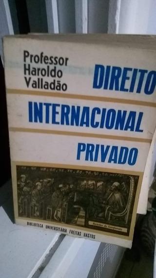 Livro Direito Internacional Privado Haroldo Valladão
