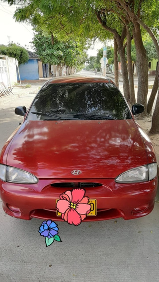 Hyundai Accent Coupe Motor 1300 Año 1998