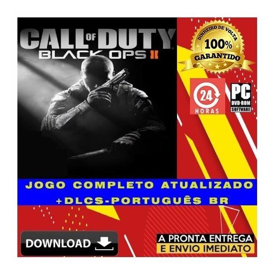 Call Of Duty Black Ops 2 Pc - Digital + Todas Dlcs + Brinde