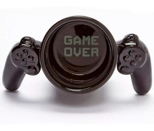 Imagen 1 de 3 de Taza Gamer De Ceramica Control Video Juegos Game Over H1291