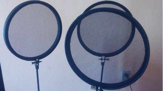 Antipop Filtro Antipop Emisora Grabación Micrófono