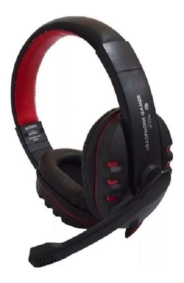 Headset Gamer Com Microfone Led Ps3 Ps4 Pc Notebook Celular