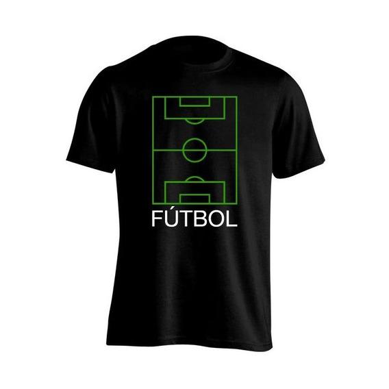 Fútbol Frases Cancha Remera 3xl H