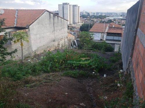 Imagem 1 de 4 de Terreno À Venda, 250 M² Por R$ 191.000 - Jardim Das Indústrias - Jacareí/sp - Te0848