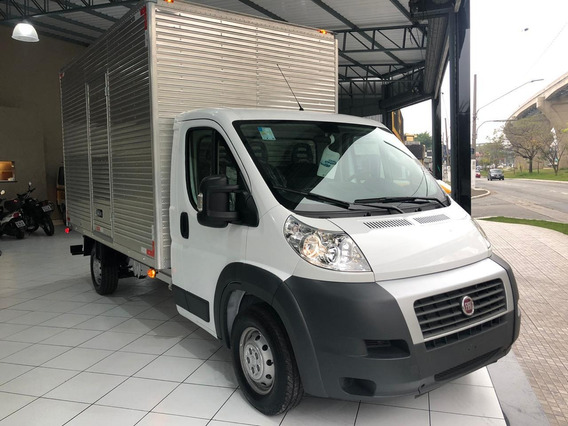 Fiat Ducato Chassi Cabine 2018 Branca Baú
