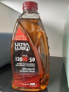 Aceite Semisintetico 20w-50 Marca Ultralub