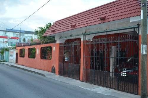 Casa Con 5 Recamaras Encentro A Pasos De La Av30 Playa Del Carmen P1458