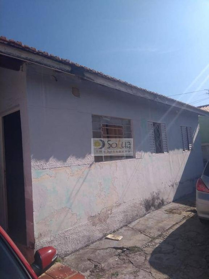 Casa Com 2 Dormitórios À Venda, 160 M² Por R$ 270.000 - Conjunto Habitacional Padre Anchieta - Campinas/sp - Ca0727