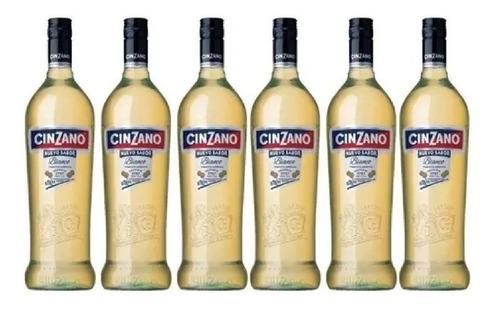 Caja X 6 - Cinzano Bianco Vermouth - 450ml - Grupo Campari