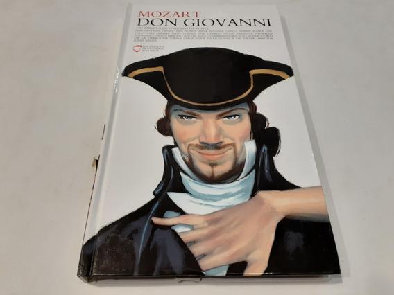 Clásicos De La Ópera: Don Giovanni, Mozart 3 Cd Europa Mint