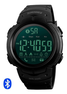 Reloj Bluetooth Skmei 1301 Digital Deporte Acuático Calorías