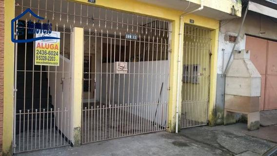 Casa Com 1 Dormitório Para Alugar, 60 M² Por R$ 600/mês - Jardim Álamo - Guarulhos/sp - Ca0274
