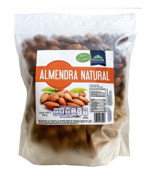 Paquete De Almendras Premium 500grs