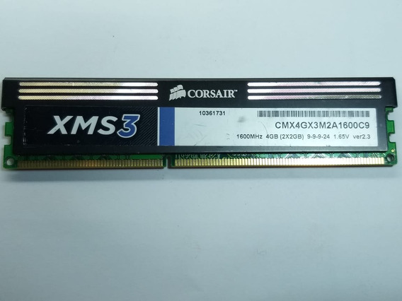 Memoria Corsair 2gb Ddr3 1600mh Ver 2.3