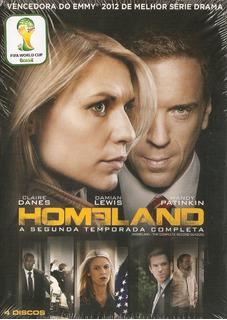 Box 4 Discos Homeland - 2°temporada Completa - Novo***
