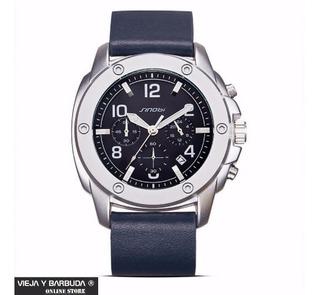 Reloj Cronografo Sinobi Hombre Nuevo Y Original No Fossil