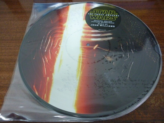 John Williams Star Wars The Force Awakens Picture Disc Nuevo